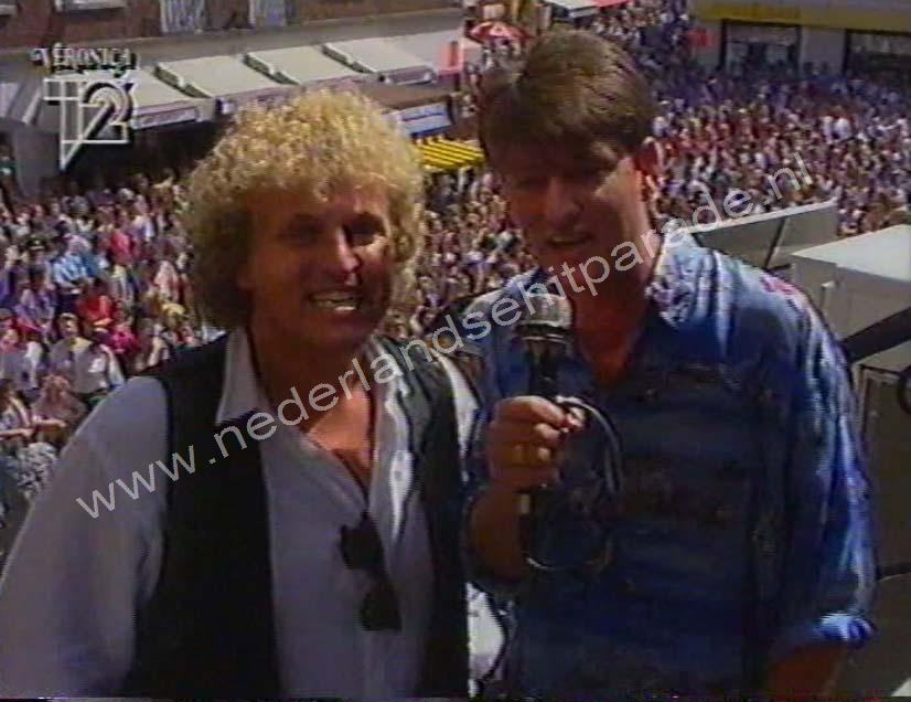 Erik de Zwart & Gordon,Top 40 venlo 30 juli 1992