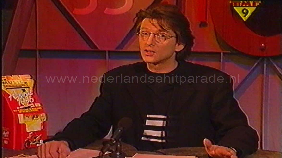 Erik de Zwart met de Top 40 op TMF 2 februari 1997