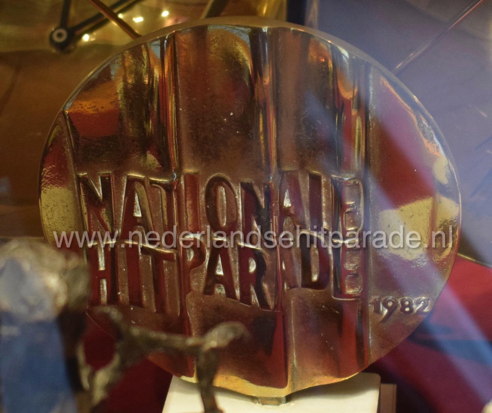 Nationale hitparade award BZN 1982.