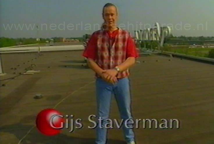 Gijs Staverman Top 40 1 mei 1993 op tv