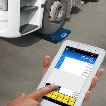 Pesaje manual vehículos software