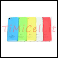 Sostituzione back cover iPhone 5C a bari
