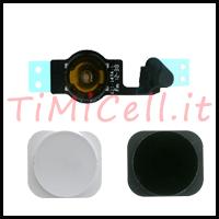Riparazione Tasto Home e  Sostituzione bottone esterno iPhone 5 a bari