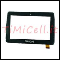 Riparazione vetro touch Clempad 6.0 bari
