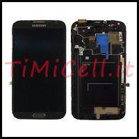 Riparazione display completo Samsung Note 2 bari