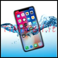 Riparazione iPhone X caduto in acqua a Bari