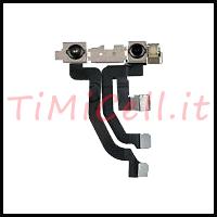 Riparazione fotocamera anteriore + sensore di prossimità iPhone Xs Max