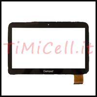 Riparazione vetro touch Clempad 6.0 XL bari