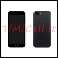 Trasformazione iPhone 6 Plus in iPhone 7 plus nero a bari