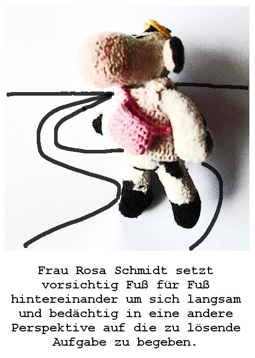 Situationen aus dem unwahrscheinlich poetischen Leben  der Frau Rosa Schmidt  DRITTE TÜTE
