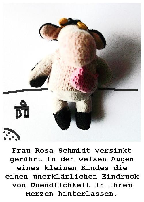 Situationen aus dem unwahrscheinlich poetischen Leben  der Frau Rosa Schmidt  ZWEITE TÜTE
