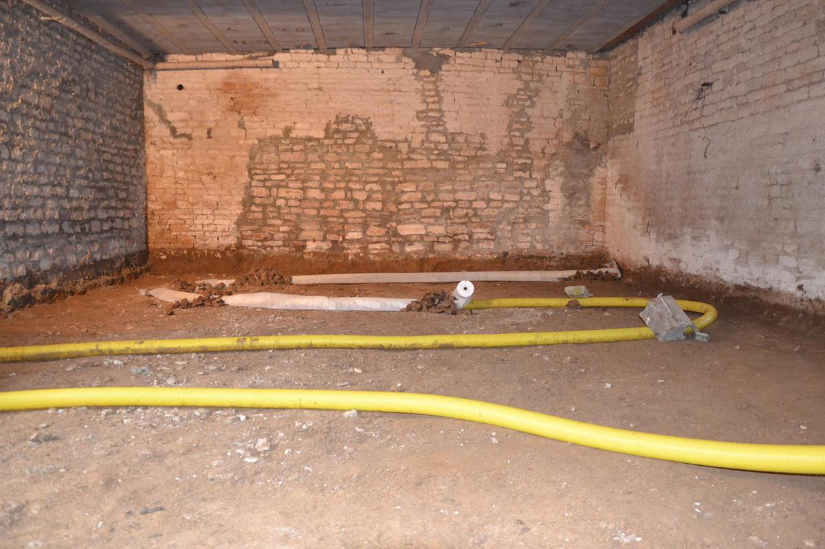 Déploiement du drain ventilé