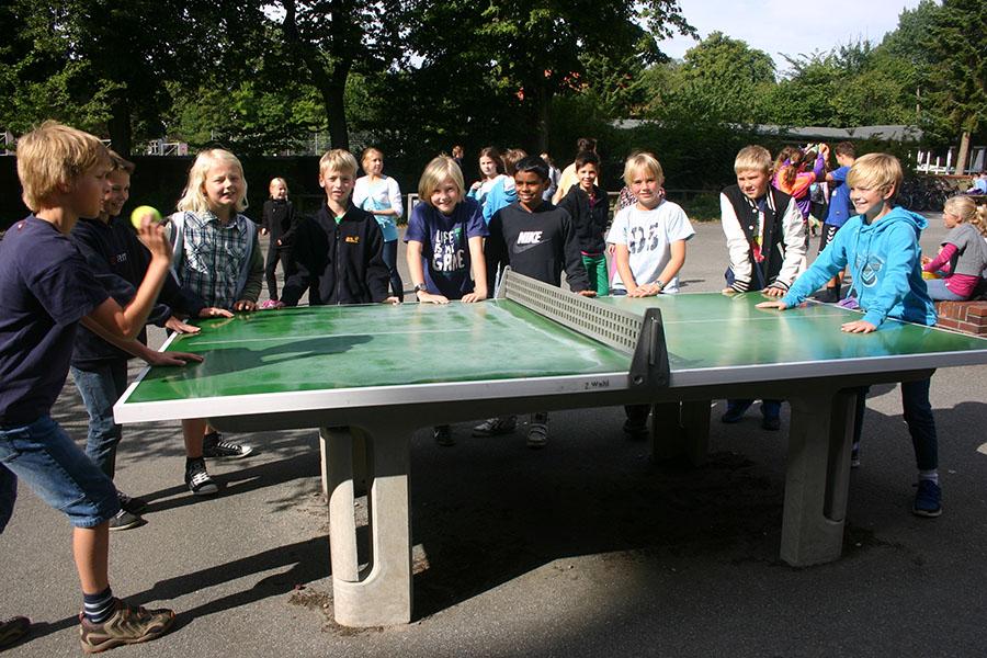 Schulhof (Tischtennisplatte)