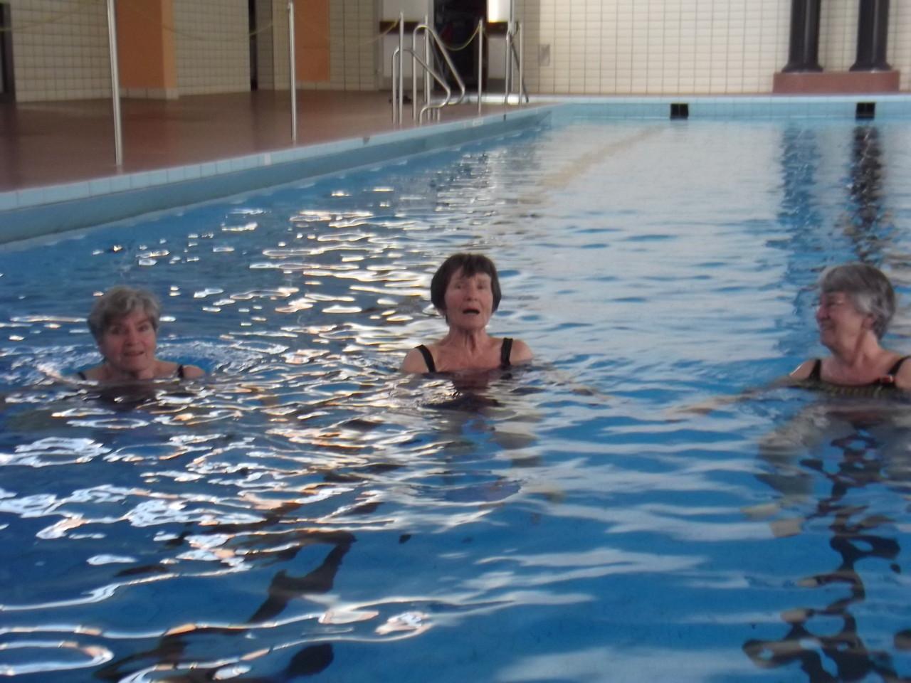 Unsere Senjorinnen beim Wasserworking