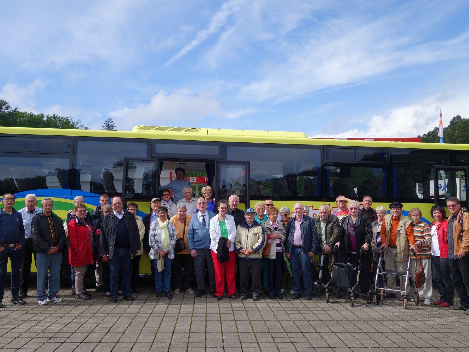 Busfahrt 2015