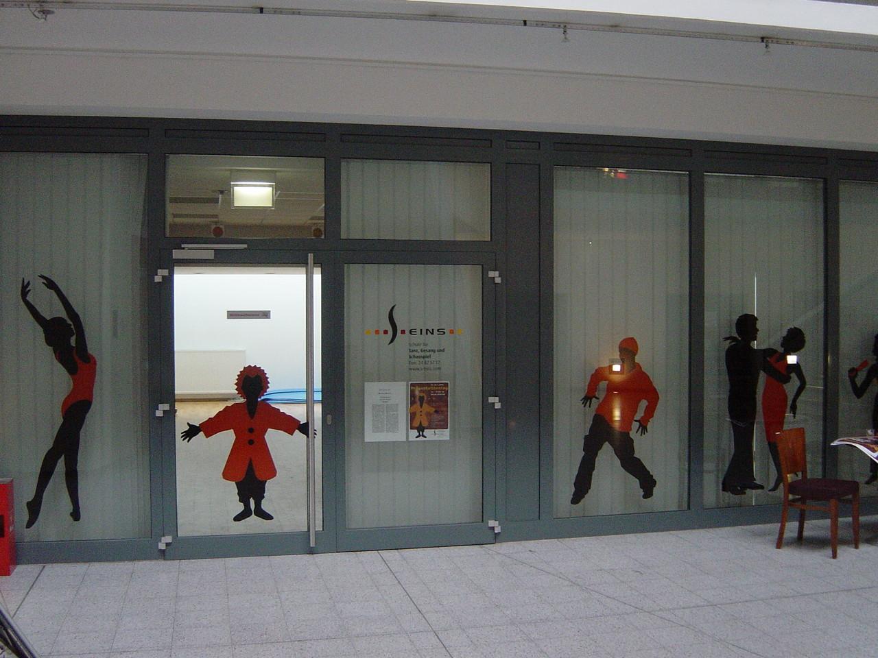 glänzende Indoor-Folie