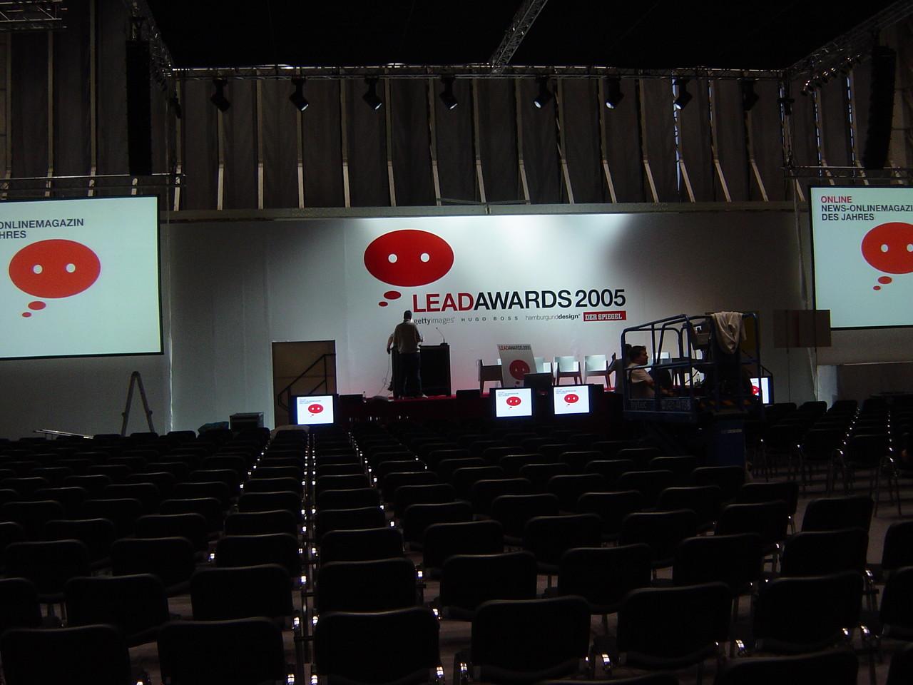 Bühnen- und Veranstaltungsbeschriftung