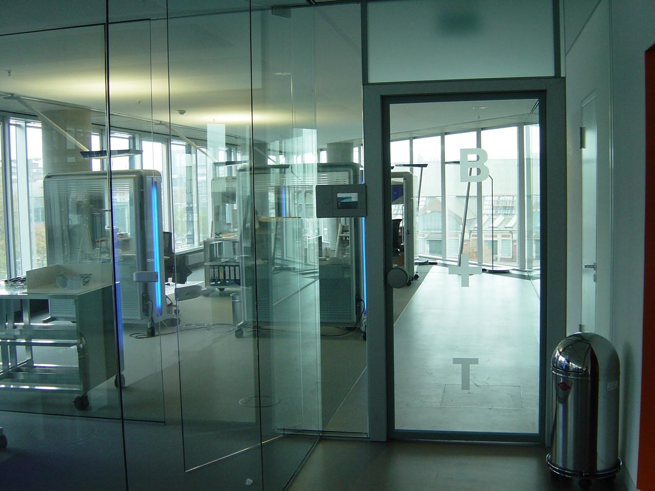 viel viel Glas, im Deichtor-Center Hamburg  B+T  Planungsbüro