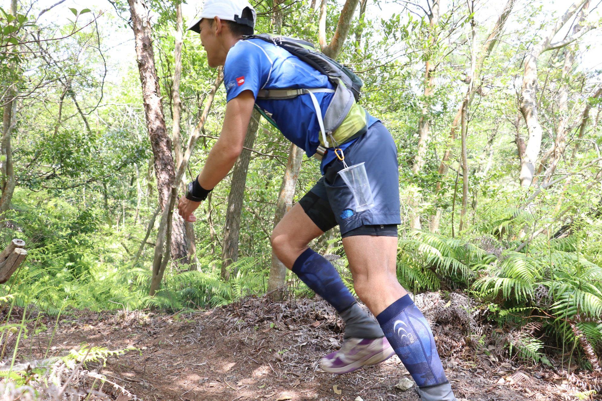 42kmコースの急登
