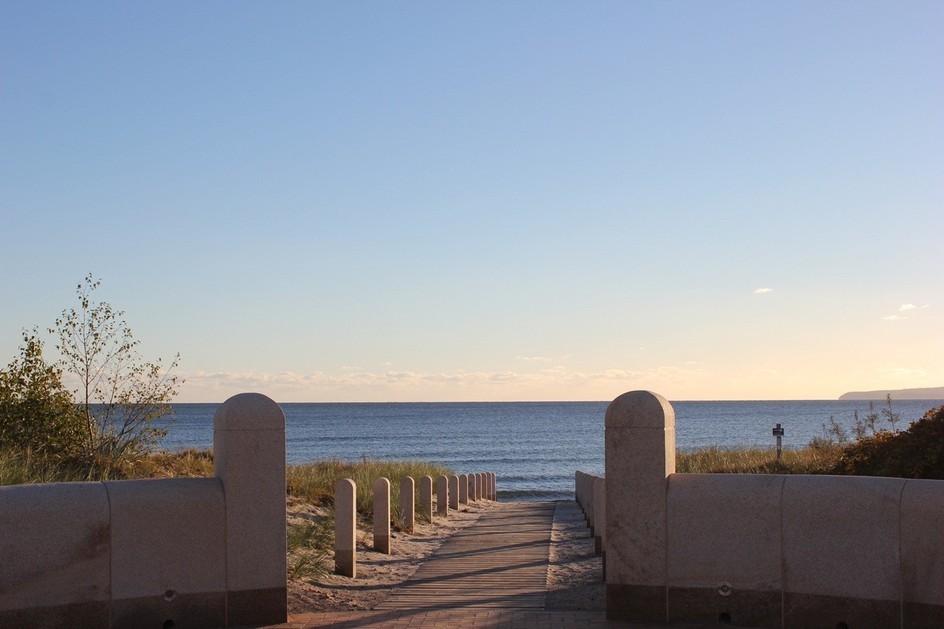Strandabgang