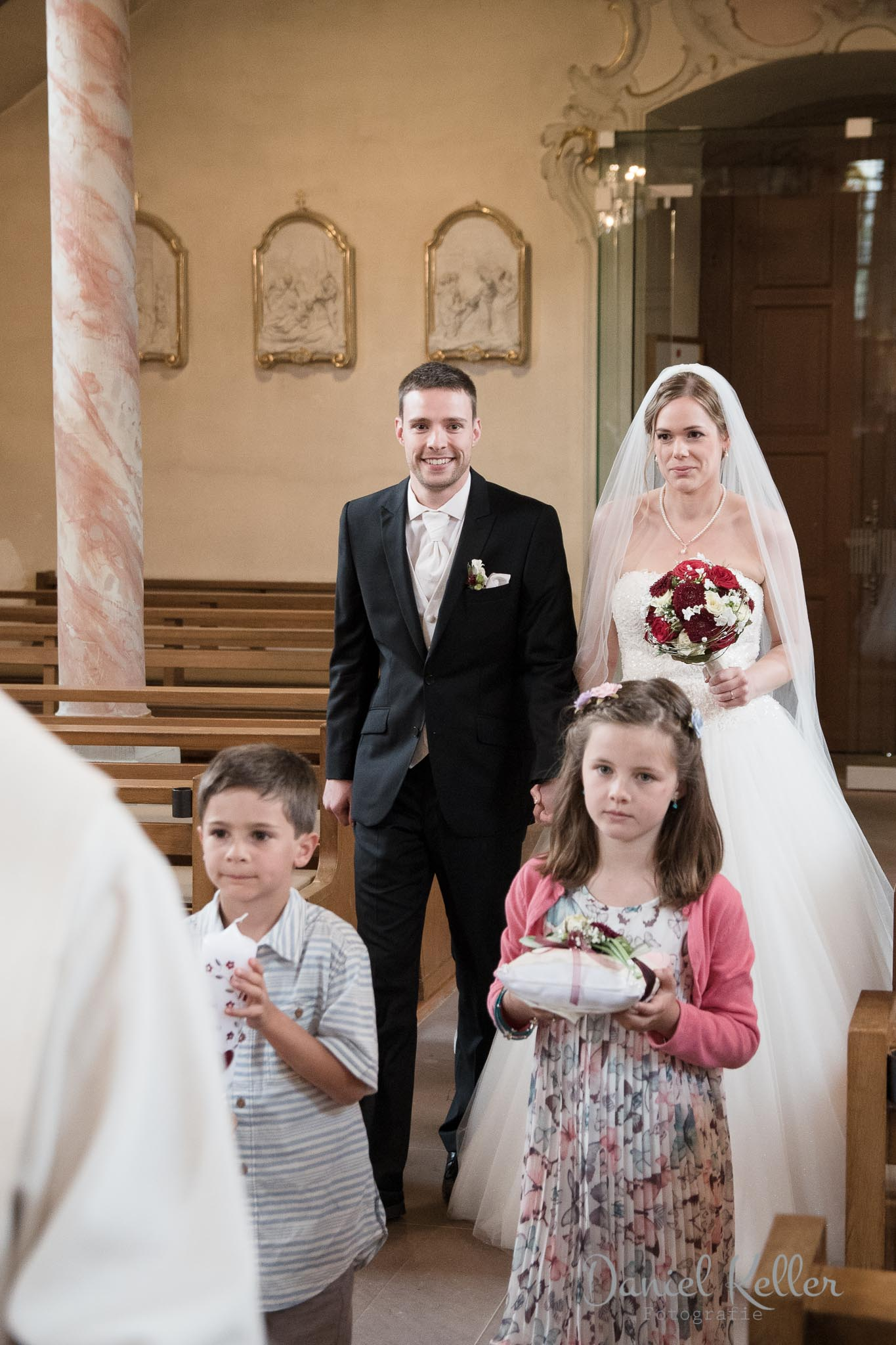 Einzug in die Kirche Appenweier / Daniel Keller Fotografie