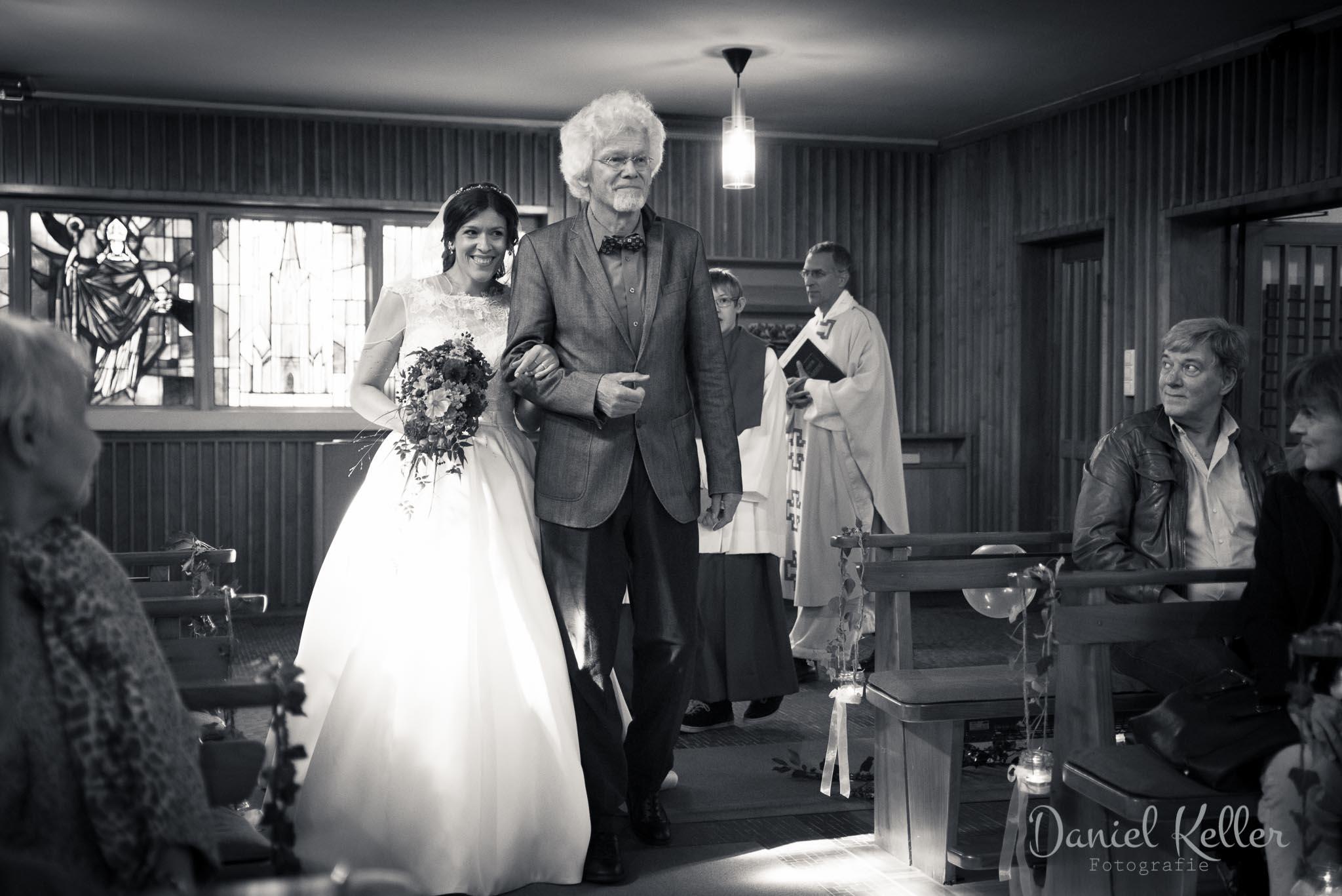 Einzug der Braut Waldkapelle Maria Frieden Bühlertal