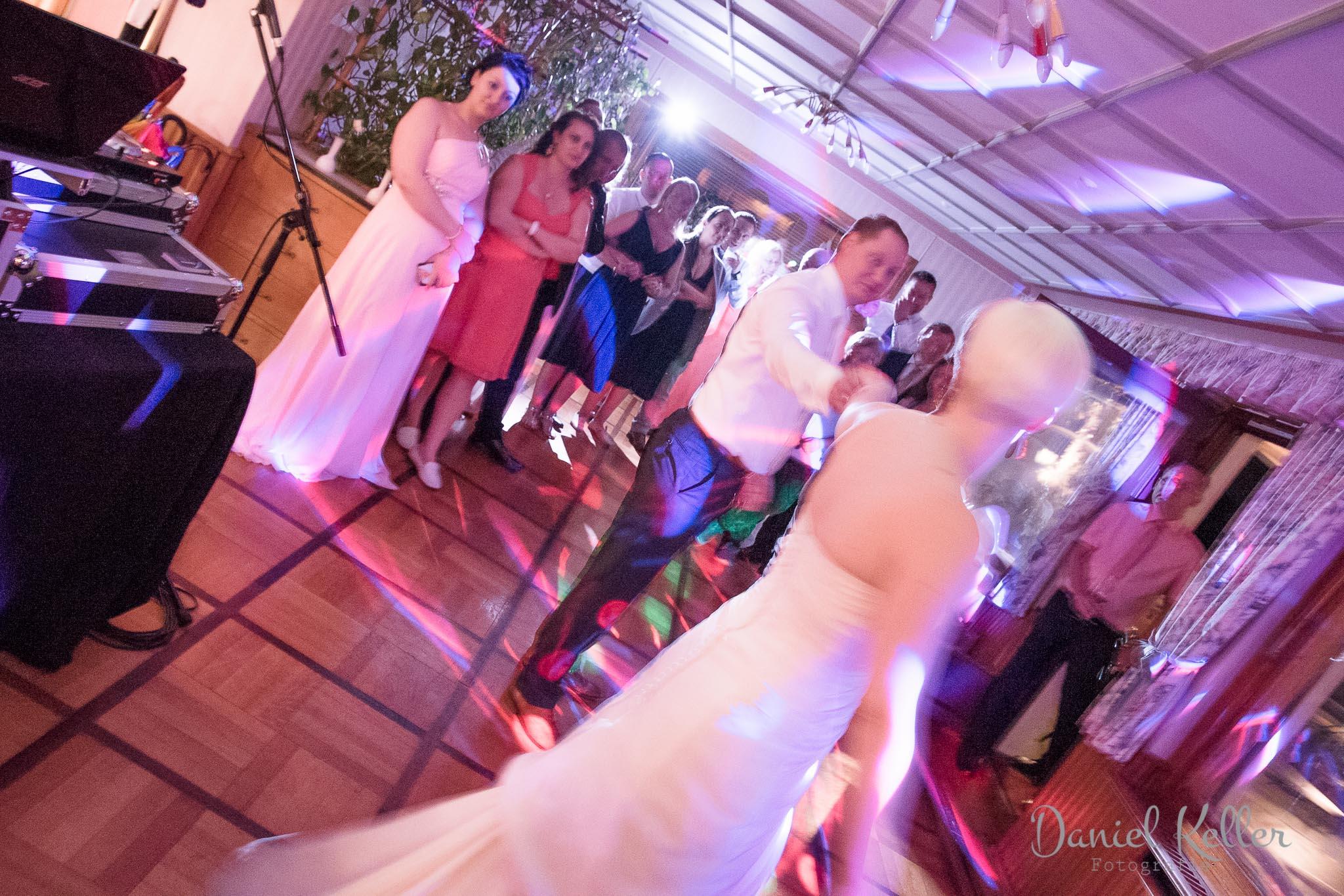 Hochzeitstanz Jägersteig Bühl / Daniel Keller Fotografie