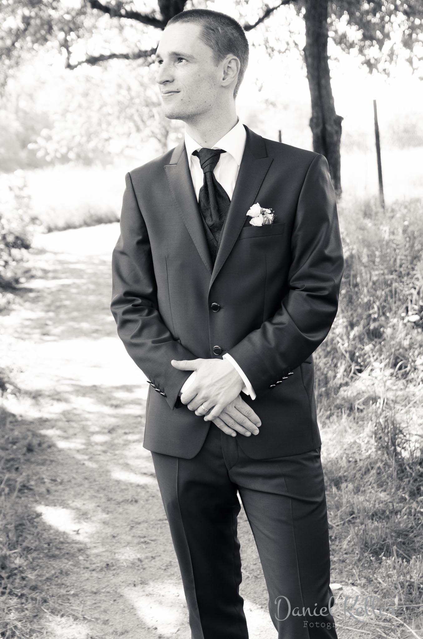 Hochzeitsfotograf Ortenau Bräutigam