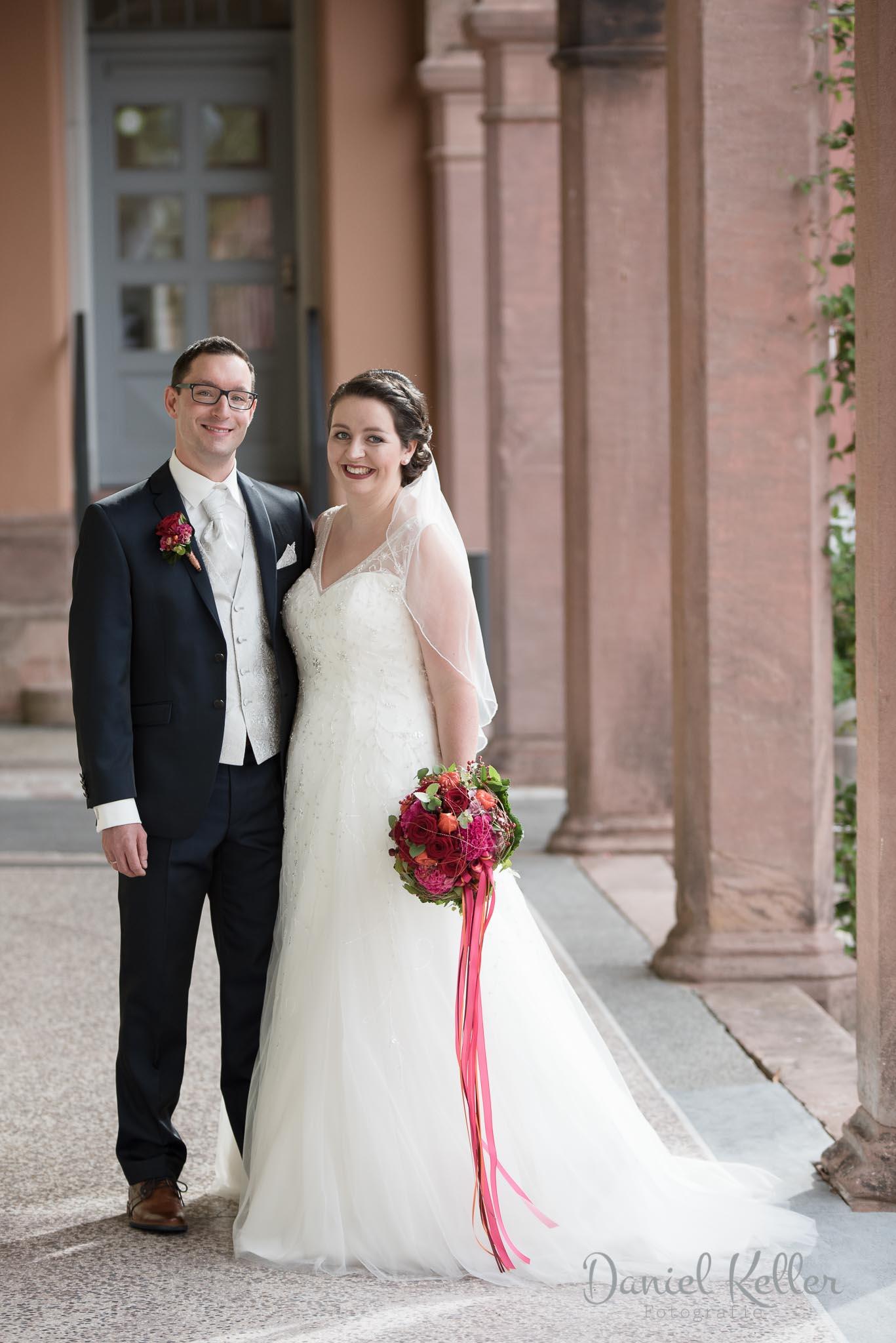 Hochzeitsbilder in der Illenau in Achern