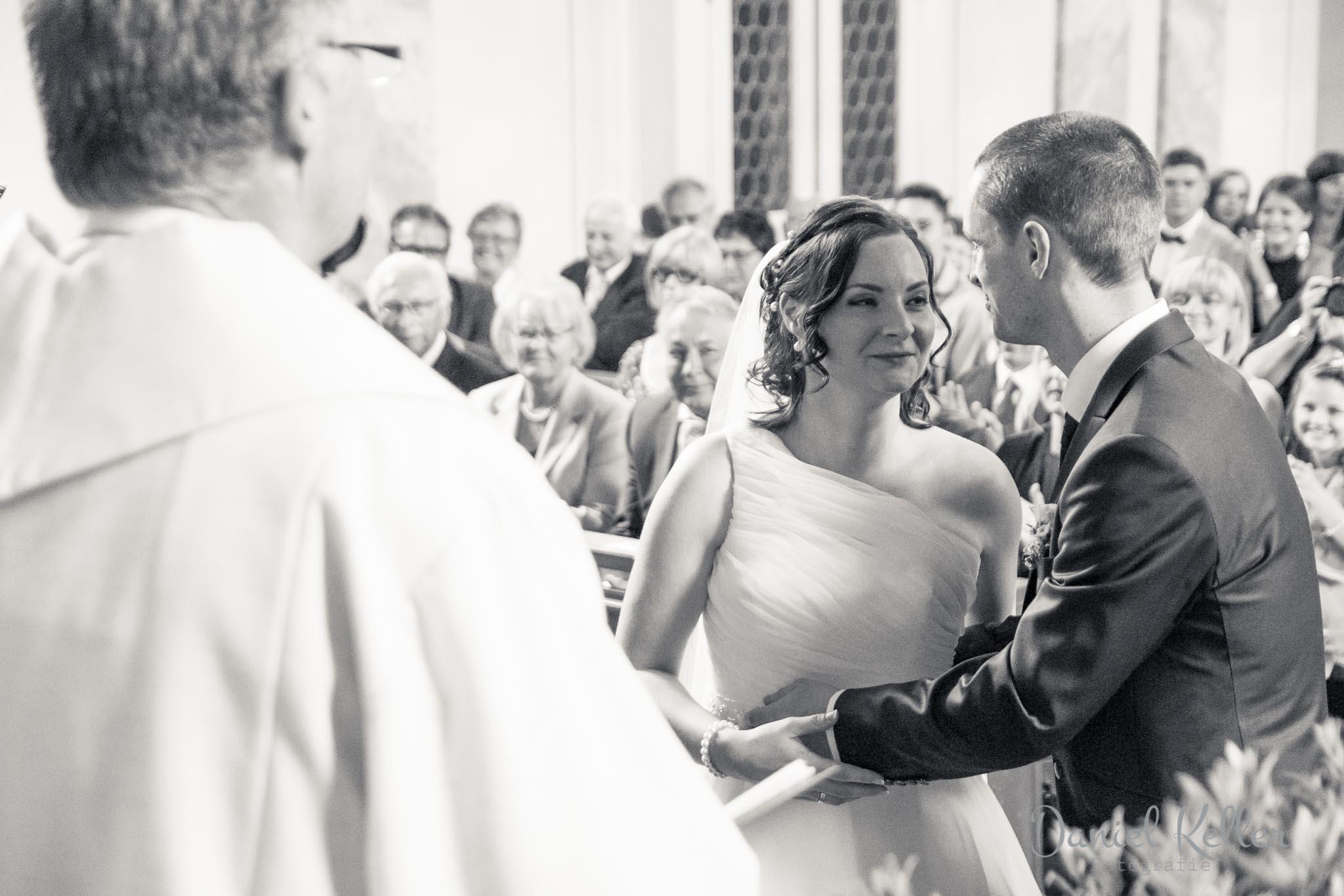 Hochzeit katholische Kirche St. Michael Appenweier