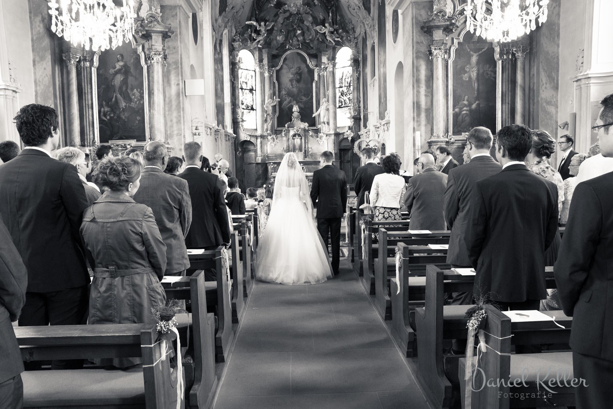 Hochzeitsfotograf Offenburg Daniel Keller Kirche Appenweier