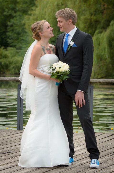 Brautshooting Kehl Rosengarten /  Daniel Keller Fotografie