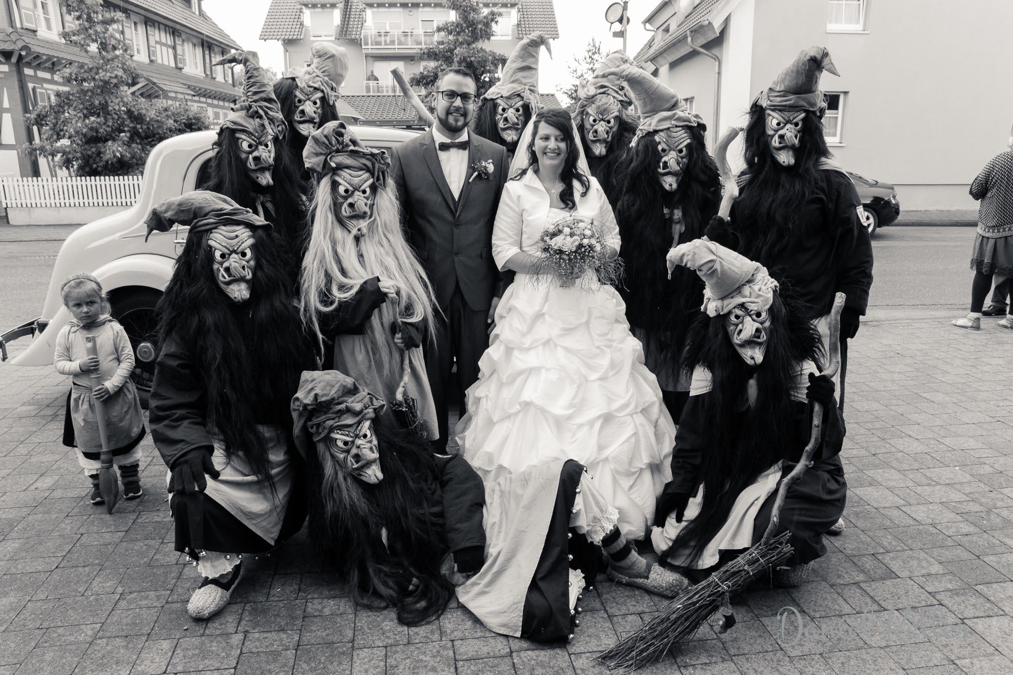 Gnaddle-Hexen Offenburg / Hochzeit Christine und Benjamin