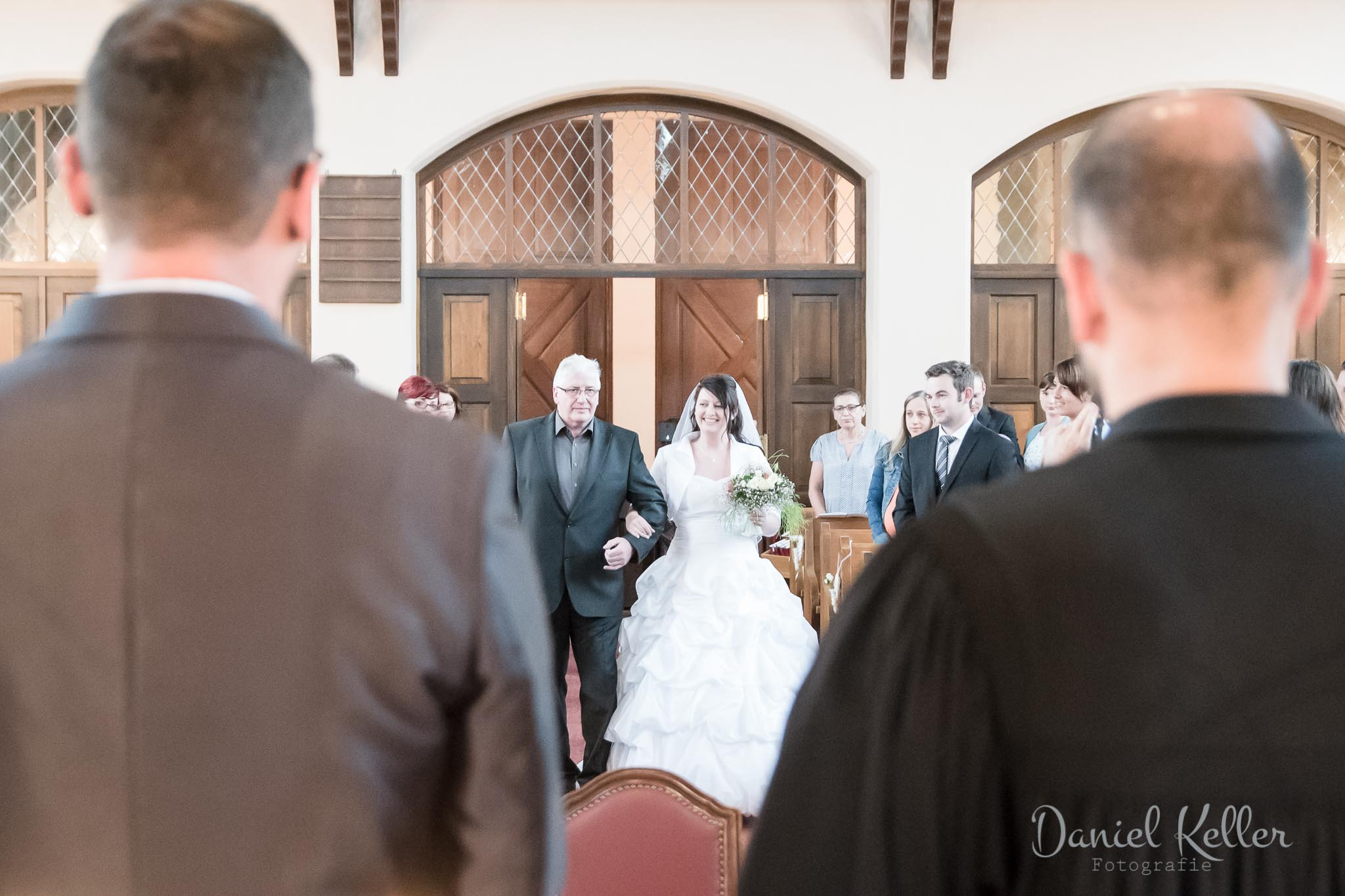 Hochzeit Kircheneinzug
