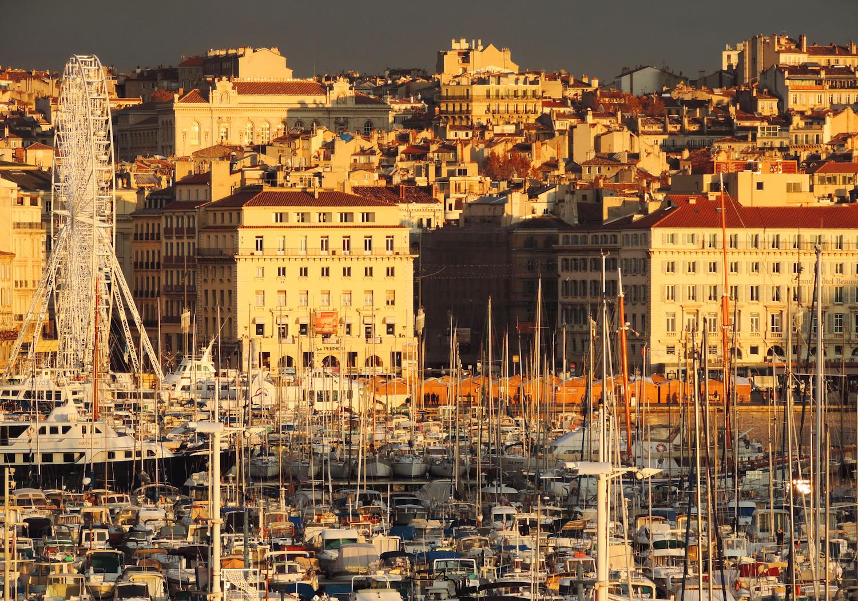 L'or du soir sur le Vieux Port