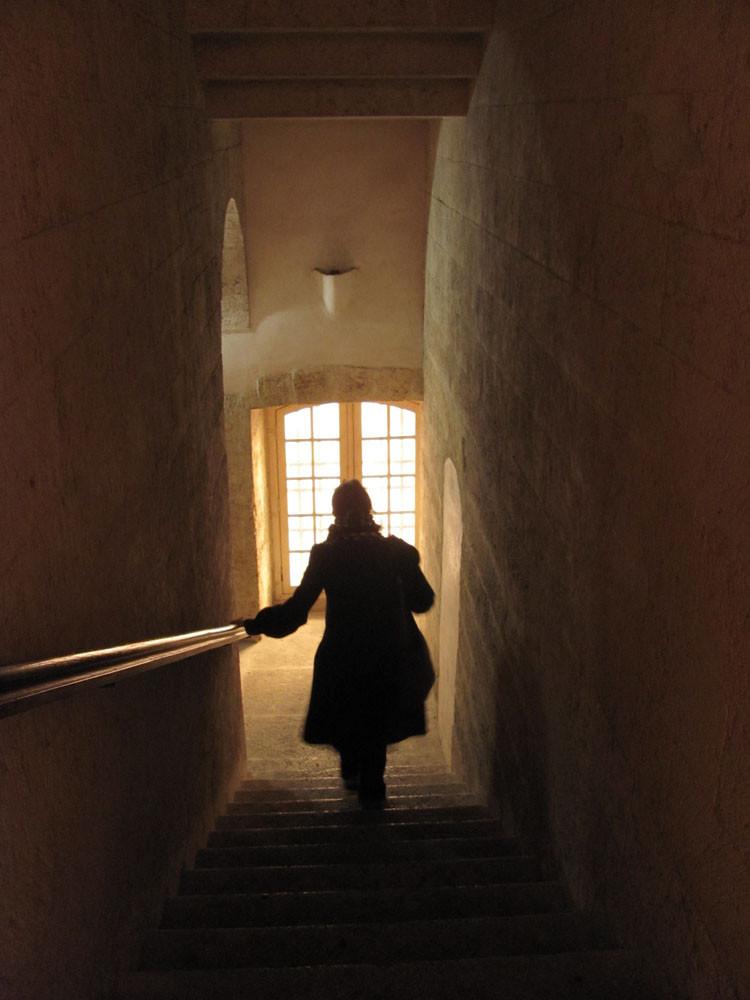 Escalier de la Charité (avec fantôme)