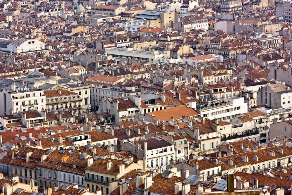 Vue Aérienne de Marseille