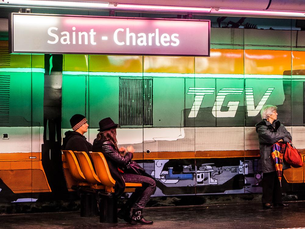 Métro ou TGV ?