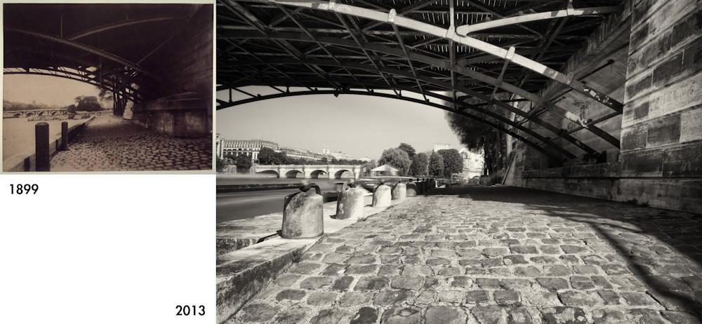 Sous le pont des arts