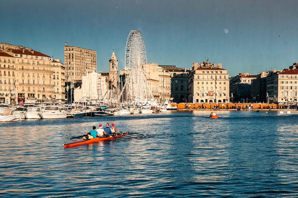 Kayak sur le Vieux Port
