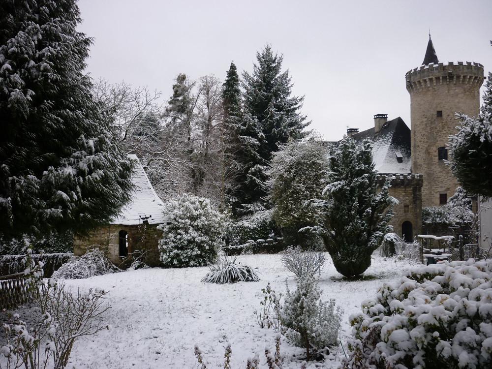 """Matin de Noël, Mme la neige est passée!!1er prix, catégorie """"Paysage"""" ; concours """"Visages de Favars"""" 2011"""