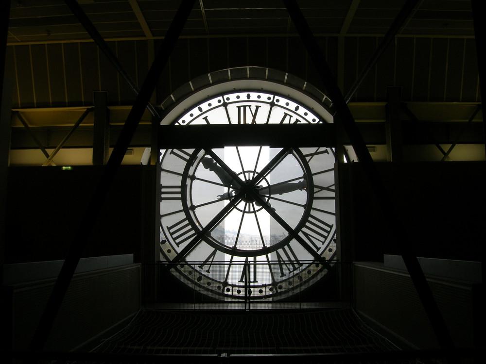 horloge de la Gare d'Orsay