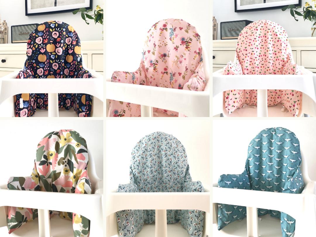 Les coussins de chaise haute Ikea !