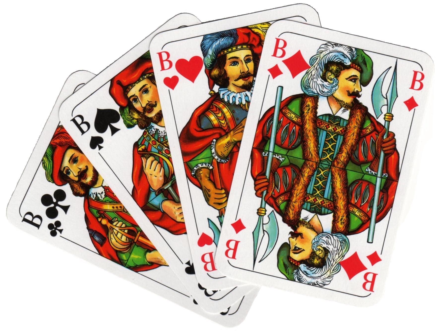 Der Skat 2 Karten
