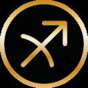 Symbol Sternzeichen Schütze von Tomas Kalpa