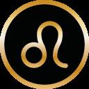 Symbol Sternzeichen Löwe von Tomas Kalpa