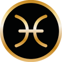 Symbol Sternzeichen Fische von Tomas Kalpa