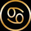 Symbol Sternzeichen Krebs von Tomas Kalpa