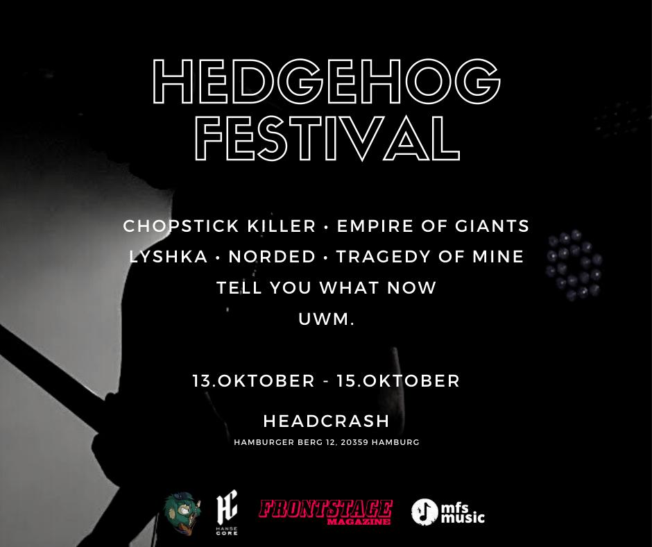 Hedgehog Festival erneut verschoben