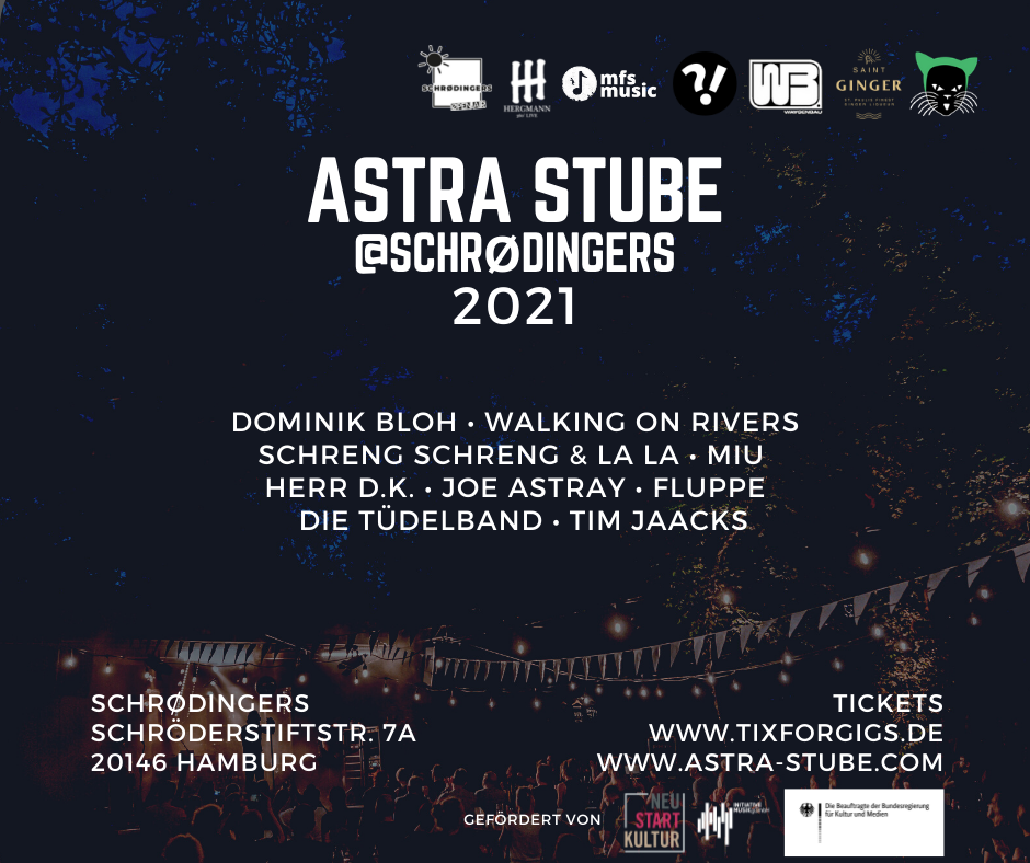 Astra Stube @Schrödingers 2021